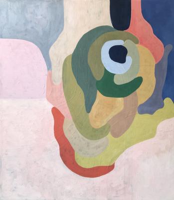 """Johanna Christianson, """"Ebb"""", 2018, Oil on Canvas"""", 35"""" x 40"""""""